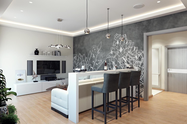 скандинаский стиль в интерьере квартиры заказать дизайн проект в