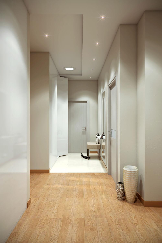 коридор в скандинавском стиле фото